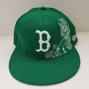 Boston Red Sox New Era Fitted Hat